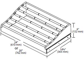 Rev-A-Shelf Wood Pant Racks w/ Full-Extension Slides
