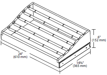 Rev-A-Shelf Wood Tie Rack w/ Full-Extension Slides