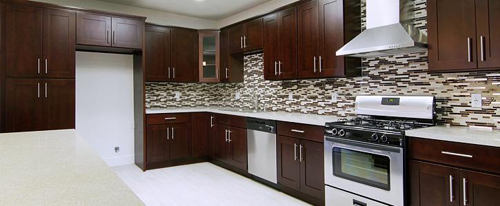 Espresso Shaker Cabinets