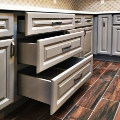 Anaheim Kitchen Cabinets Eco Friendly Gray Raised Panel Cabinet - South ...