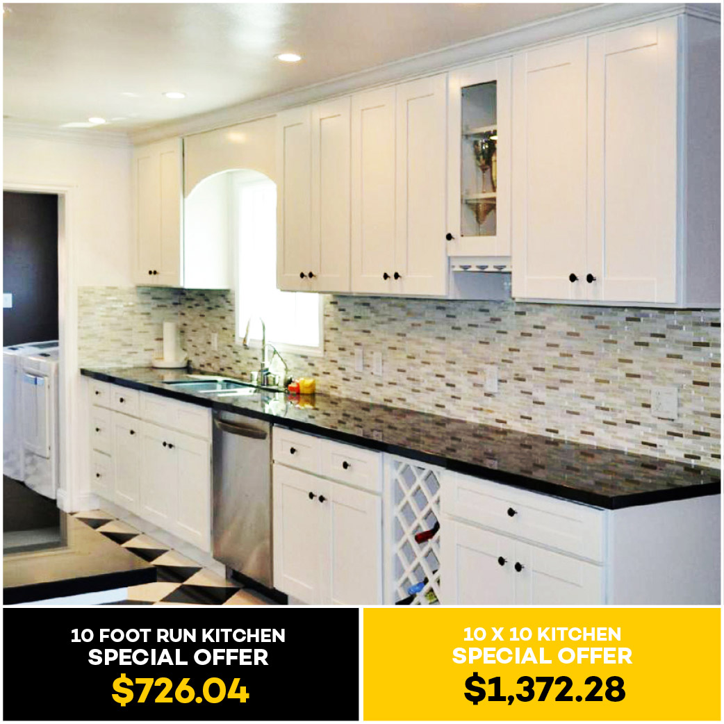 Classic White Shaker Kitchen Cabinet Kitchen Cabinets South El