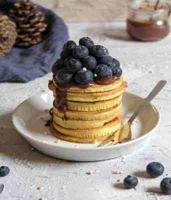 Proteinpancakes aus Dinkelmehl