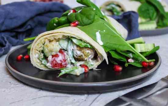 Orient Wrap mit Falafel