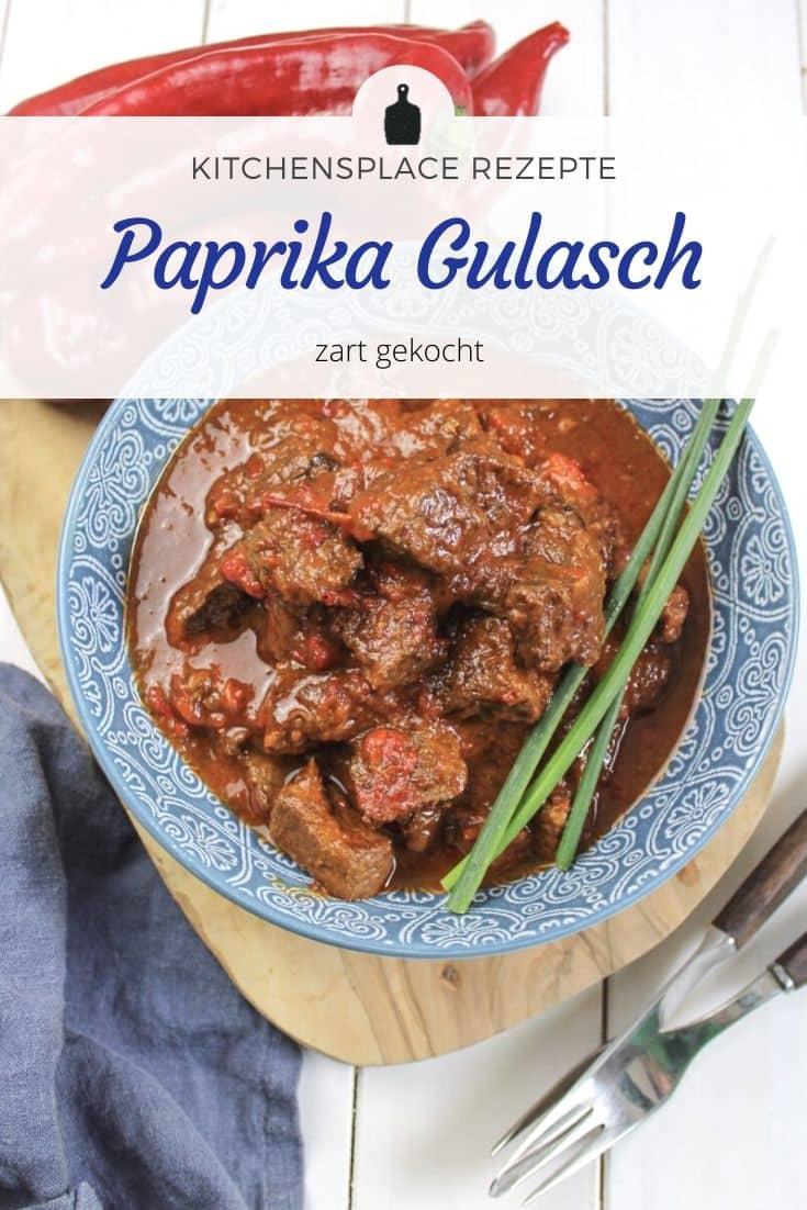 Paprika Gulasch