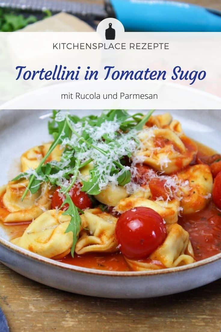 Tortellini in Tomaten Sugo