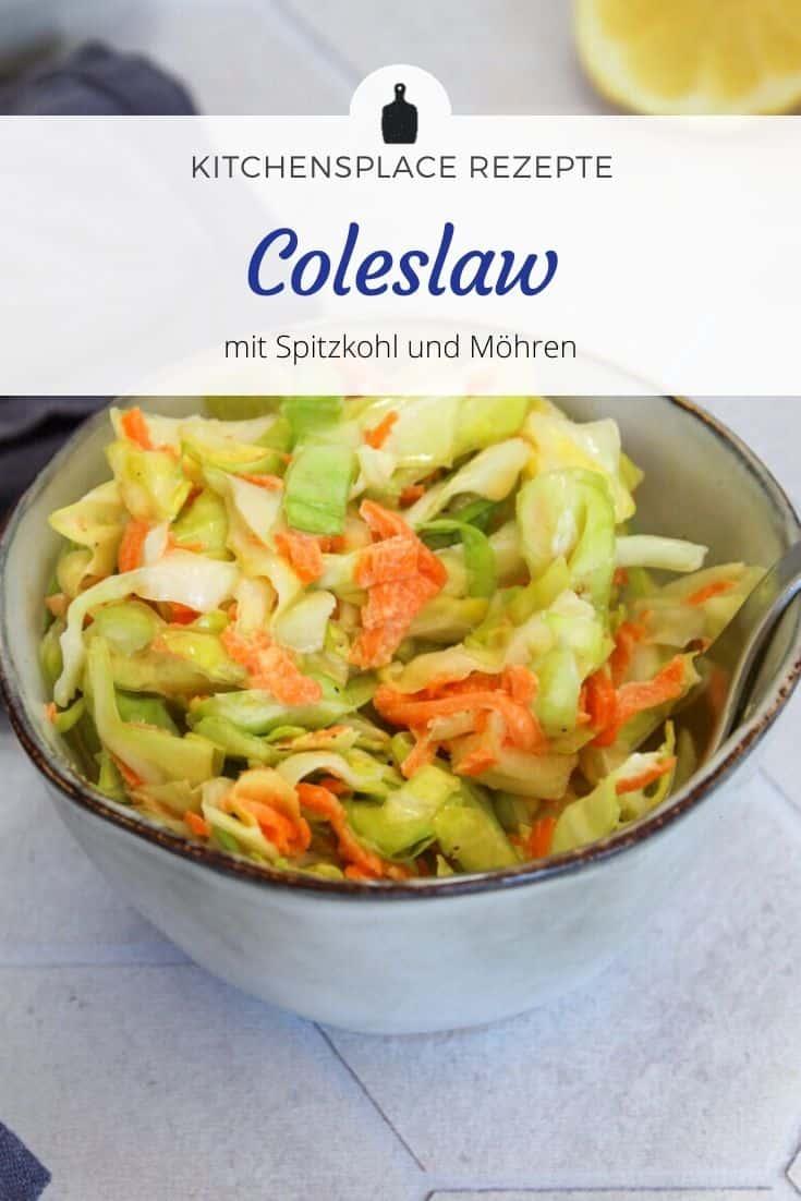 Coleslaw mit Spitzkohl Rezept