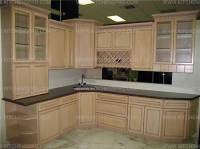 French Antique Glazed Kitchen Cabinets | Kitchen Pro