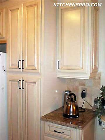 kitchen cabinets light wood small island vanilla glazed maple and bathroom ...