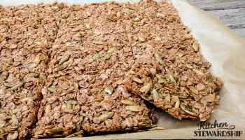 Easy Recipe for Healthy Homemade Granola Bars