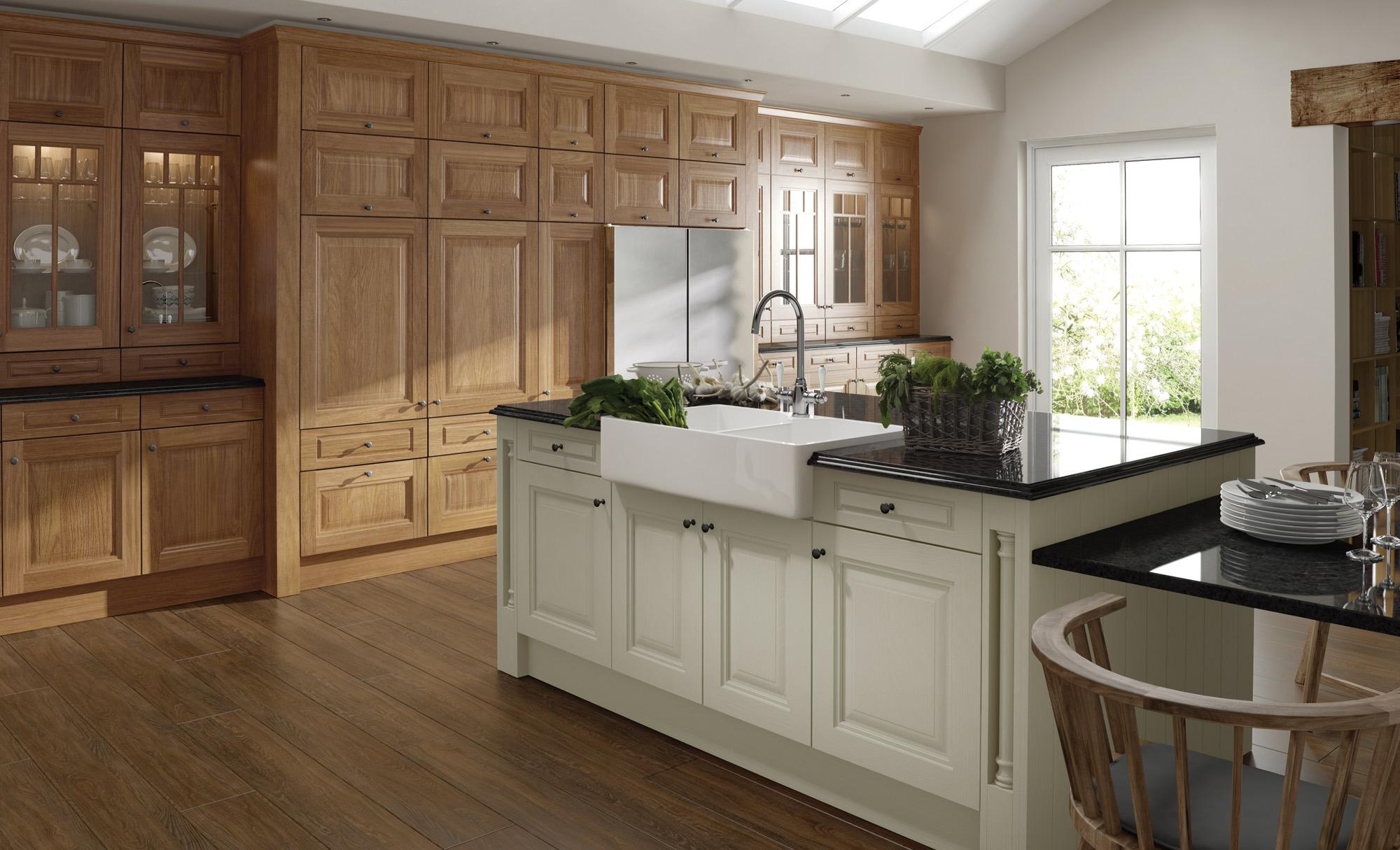 Jefferson Classic Oak  Kitchen Stori