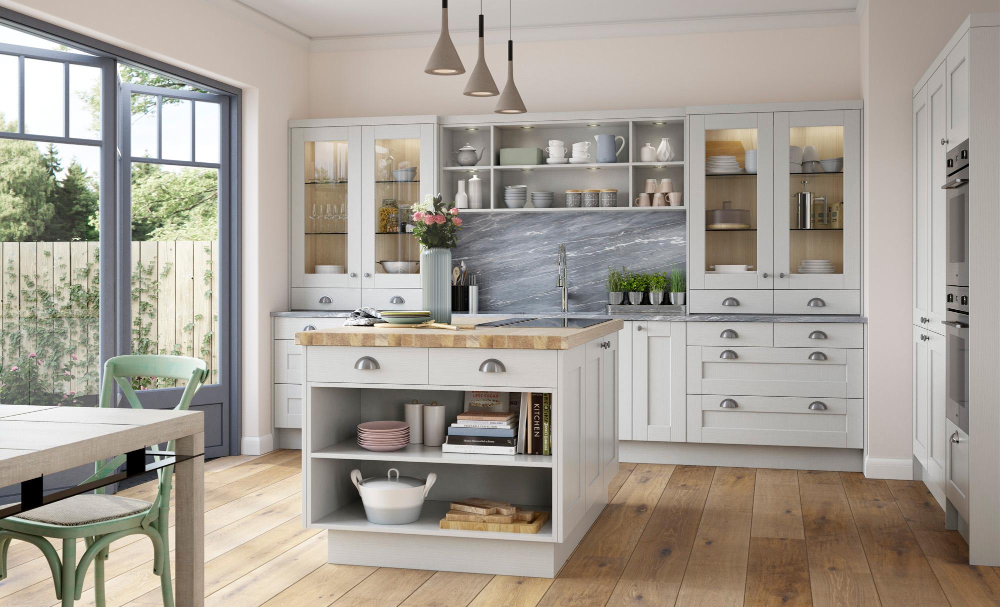 shaker style kitchen cheap valances for doors kensington light grey uform in