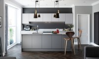 Handless Kitchen doors - Strada Matte | Uform