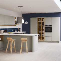 Kitchen Matt Yellow Pine Cabinets Strada Matte Contemporary Stone Stori Modern Handless In Painted