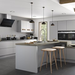 Kitchen Matt Tables And Chairs For Small Spaces Strada Matte Contemporary Light Grey Stori