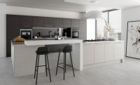 Tavola Modern Hacienda Black & Light Grey