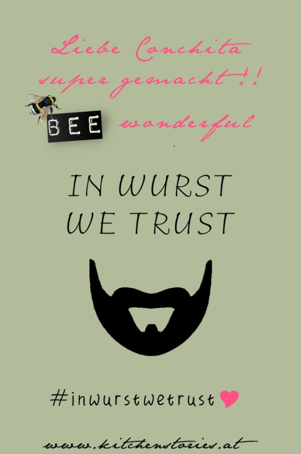 Conchita Wurst gewinnt den Eurovision Song Contest 2014 - in wurst we trust