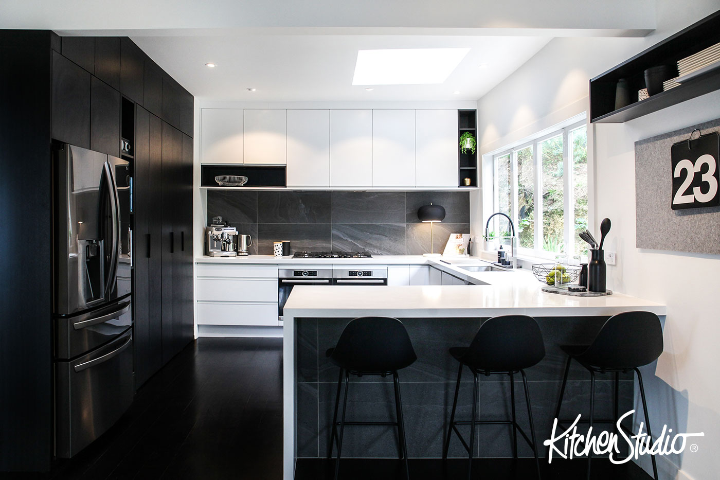 kitchen desing milos design gallery studio be bold with black white