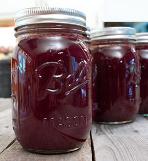 Sweet Memories of Chokecherry Syrup