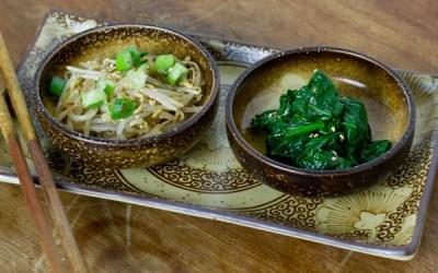 Banchan – Korean Sesame Spinach