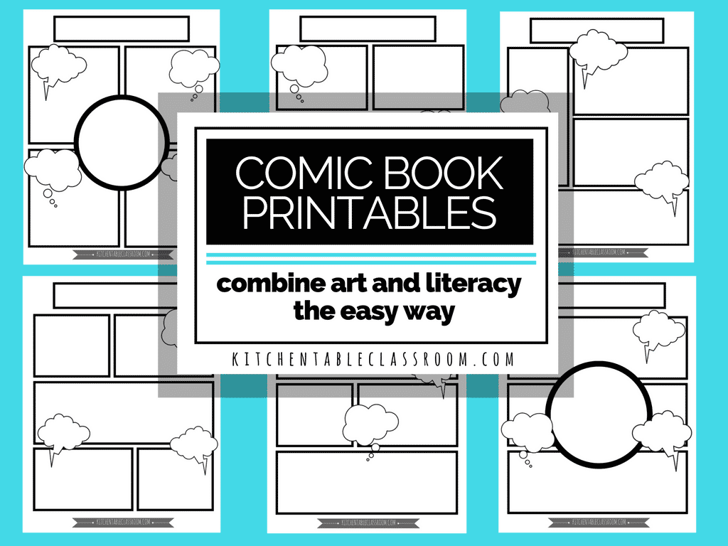 Printable Comic Strips Without Words