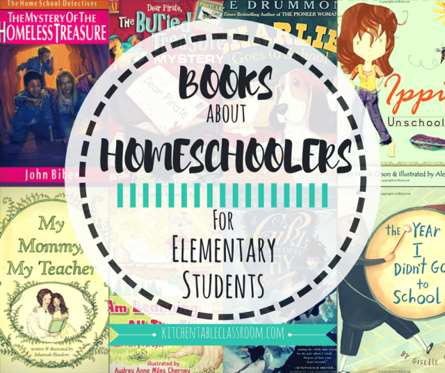 I set out on a mission to uncover children's books featuring homeschoolers. It's nice when my kids can see our lifestyle reflected in the books they read.