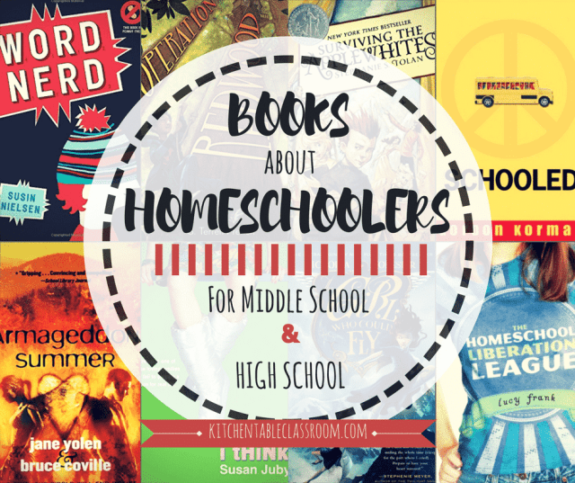Everyone wants to fit in somewhere.That's why I set out to find  books about homeschoolers as characters appropriate for your middle and high school student!