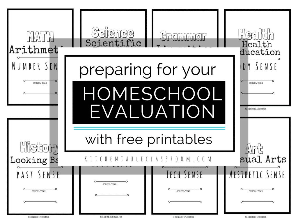 Homeschool Evaluatiuon Preparation Encouragement And