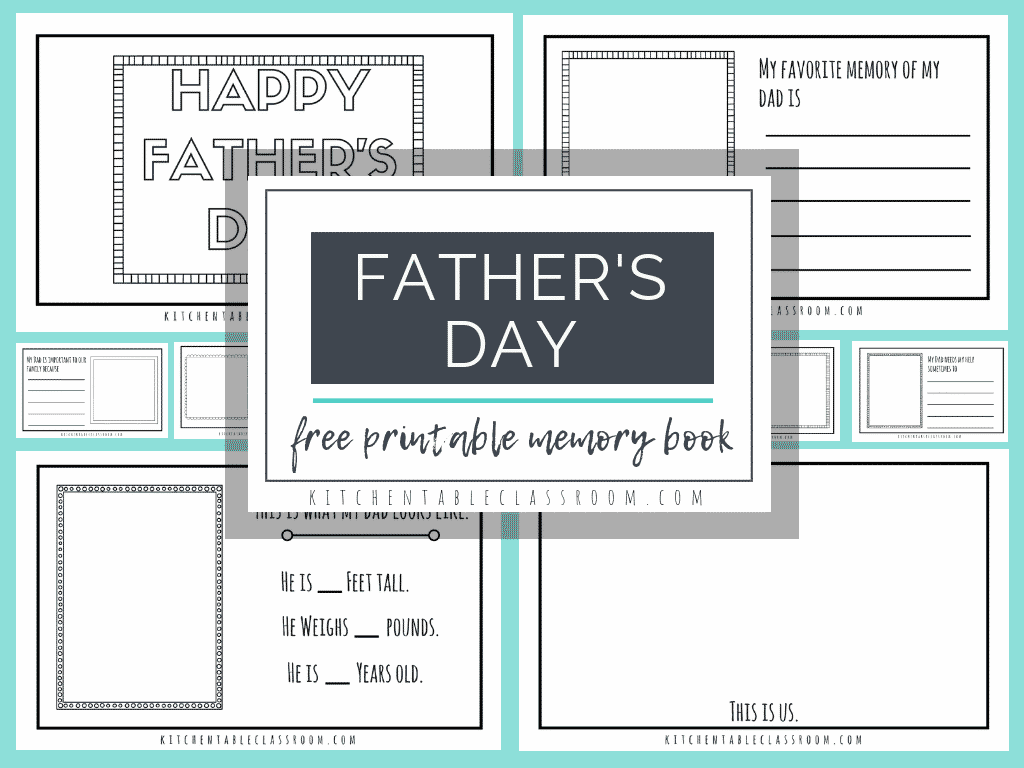 Father S Day Free Printables Books For Dad S And Other