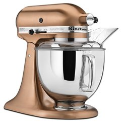 Kitchen Aid Colors Tile Floor Designs Kitchenaid Mixer Tools Small Appliance Reviews The Beautiful Copper Above Is From Metallic Series Of Mixers Note That It Not Cheap