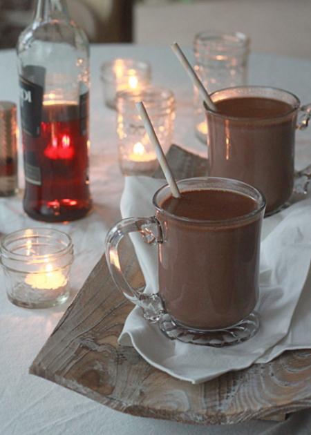 Boozy Hot Chocolate Kitchen Treaty