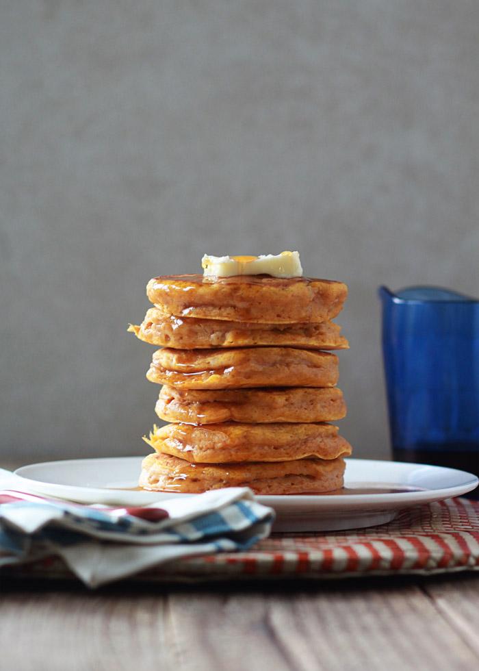 Fluffy Pumpkin Pancakes Kitchen Treaty