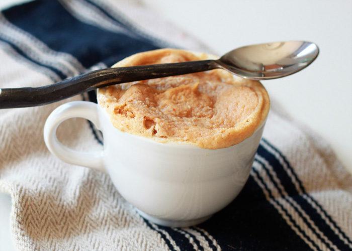 easy peanut butter vegan mug cake