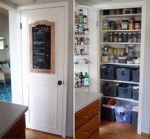 How We Organized Our Small Kitchen Pantry   Kitchen Treaty ...