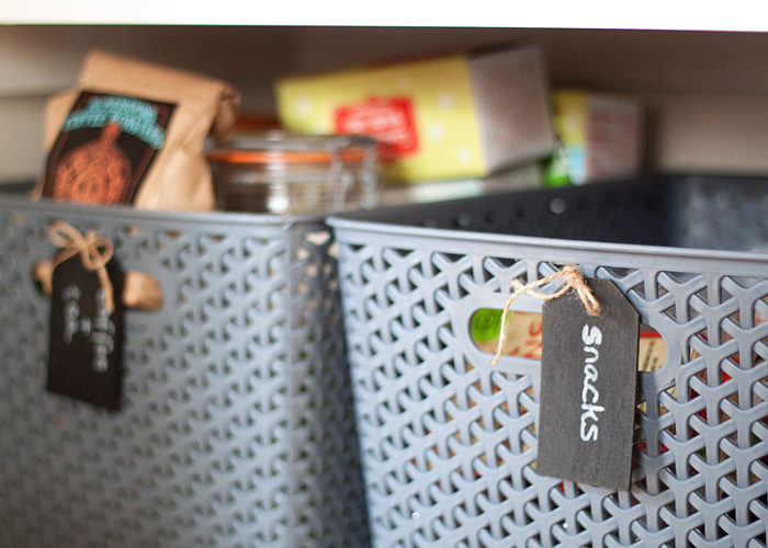 kitchen garbage bags light covers how we organized our small pantry - treaty