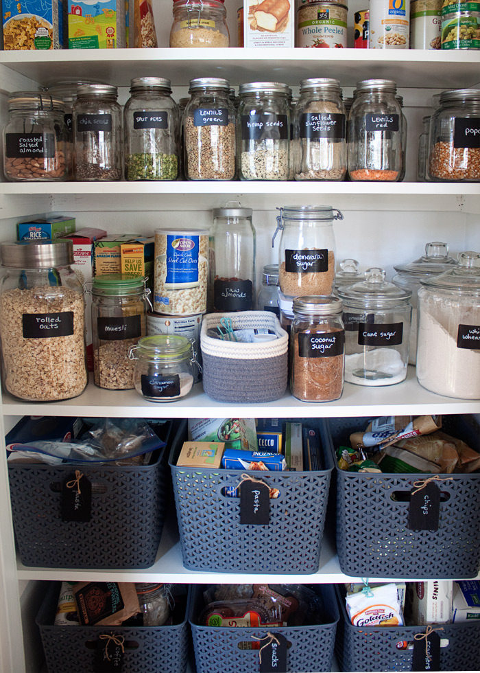 kitchen pantry organization ideas cabinet design online how we organized our small treaty this tiny was whipped into shape with