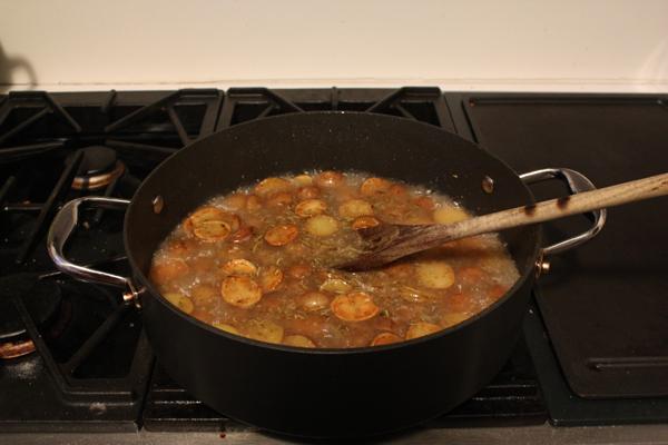 Chicken Vesuvio Kitchen Trials