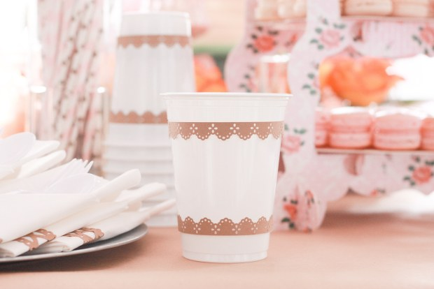 vintage party cups