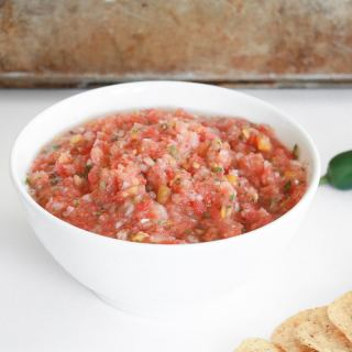 5 minute fresh salsa