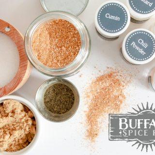 buffalo dry rub
