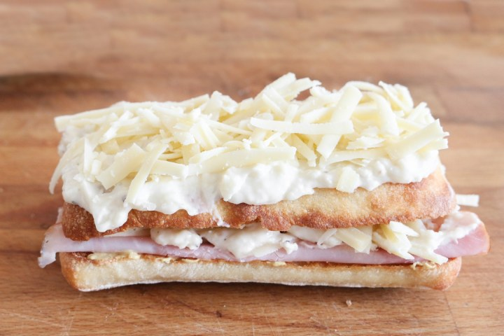 Croque Monsieur - the ultimate ham and cheese sandwich