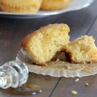 A cakey style cornbread that is light and fluffy with a layered sweetness that's perfect on it's own, or beside your favorite plate of ribs.