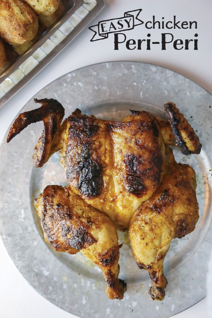 OMG this is SO GOOD! And easy, super easy to make! Peri-Peri style Portuguese chicken.