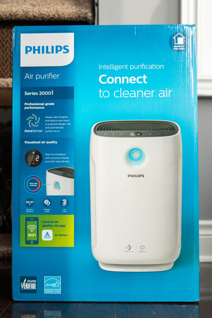 Philips 2000i Air Purifier review and first thoughts