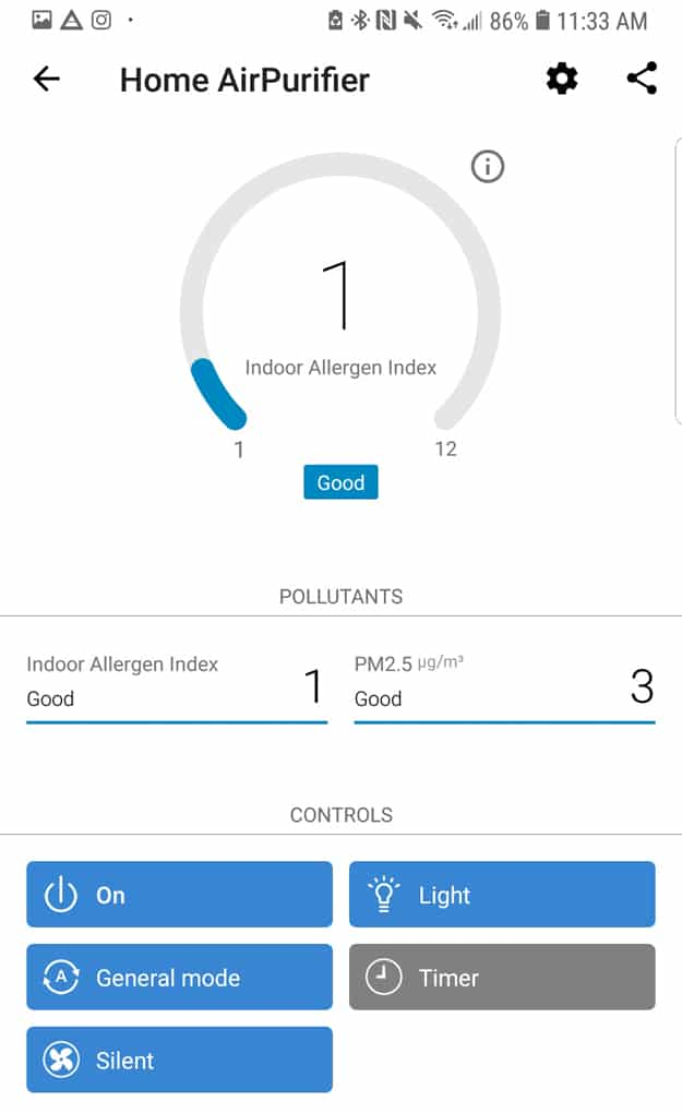 Philips 2000i Air Purifier review and thoughts after one month of use.