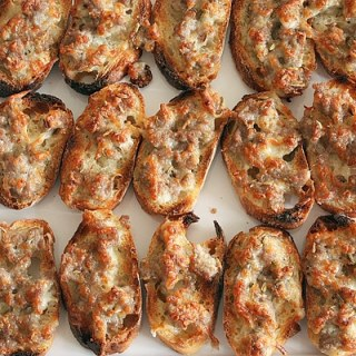Sausage Crostini