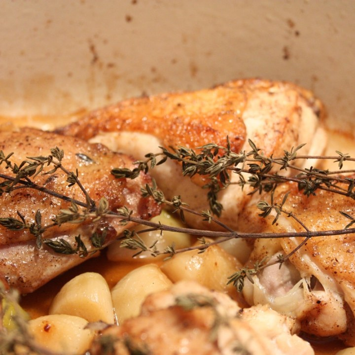 Chicken with 40 Cloves