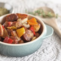 Italian Style Sausage and Peppers