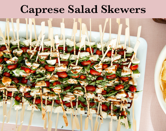 Caprese Salad Skewers Recipe