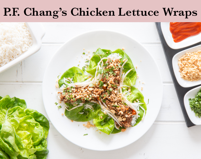 PF Chang's Chicken Lettuce Wraps Recipe