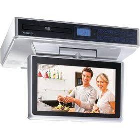 Venturer KLV39103 10in Undercabinet Kitchen TVDVD Combo